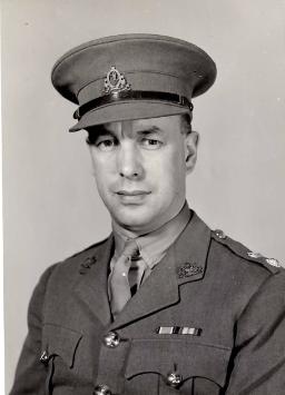 Lt. Col. L.E. James - WWII