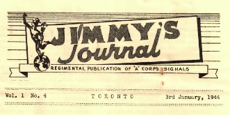 Jimmy's Journal Jan 1944