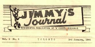 Jimmy's Journal Jan 1944