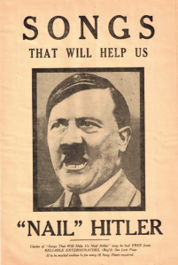 Songs to Nail Hitler