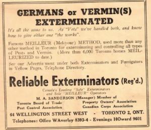 WWII Advertisement