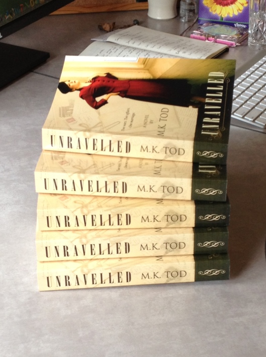 Unravelled Proof copies