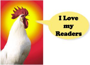 I love my readers