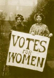 Annie Kenney & Christabel Pankhurst