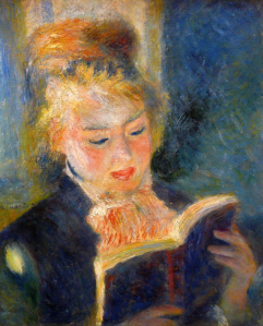 Woman Reading - Pierre-Auguste Renoir