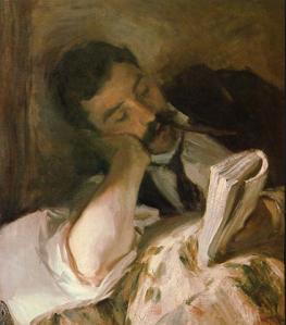 Man Reading - John Singer Sargent