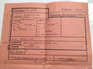 Secret Command Document
