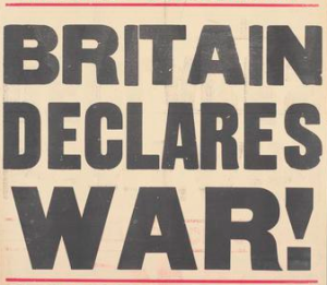 Britain declares war 1914