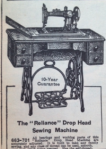 Reliance Sewing Machine