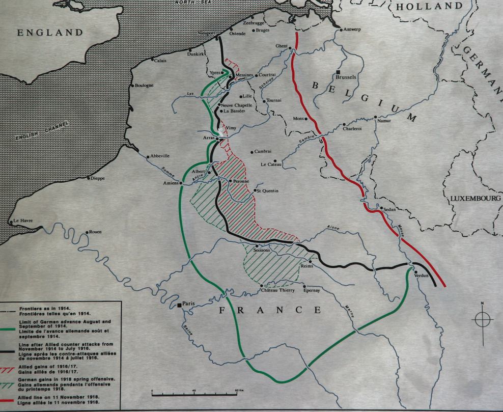 Wwi Diaries Tell A Poignant Tale Writer Of History Trench Diagram Lines In Northern France