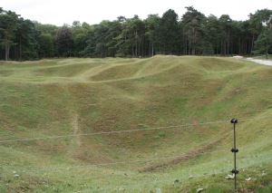 WWI Craters and Shell holes