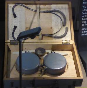 Underground listening device
