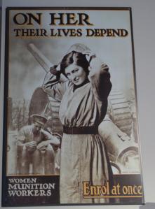 Women's war work was critical