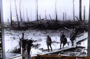 War scene from IWM exhibit