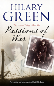 Passions of War by Hilary Green