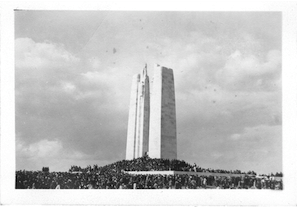 Vimy Memorial 1936