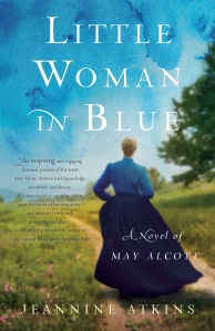 Little Woman in Blue by Jeannine Atkins