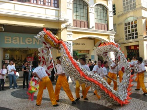 Hong Kong dragon dance
