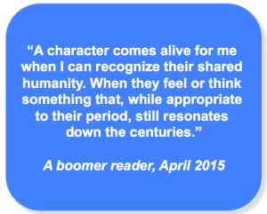 Boomer reader quote