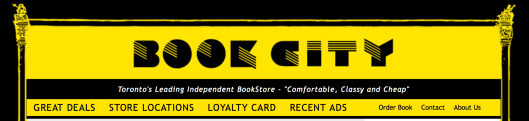 Book City Web page