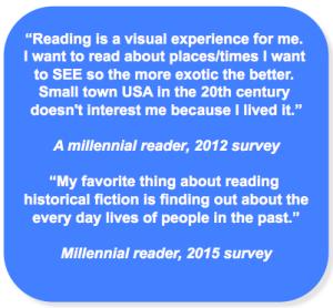 Millennial readers