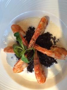 shrimp-black-rice-risotto