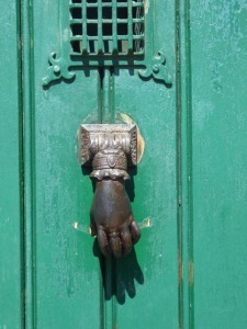 A door knocker that definitely needs to feature somewhere.
