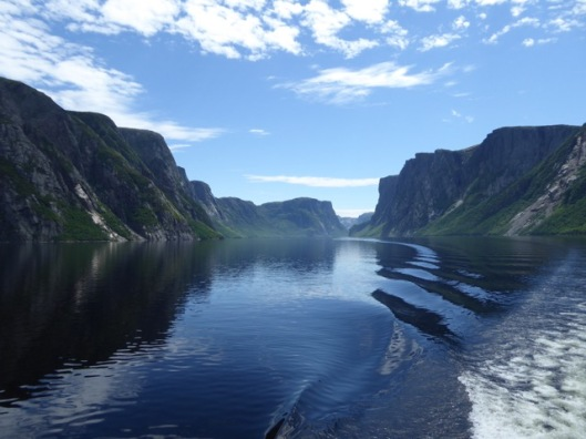 Western Brook Pond fiords