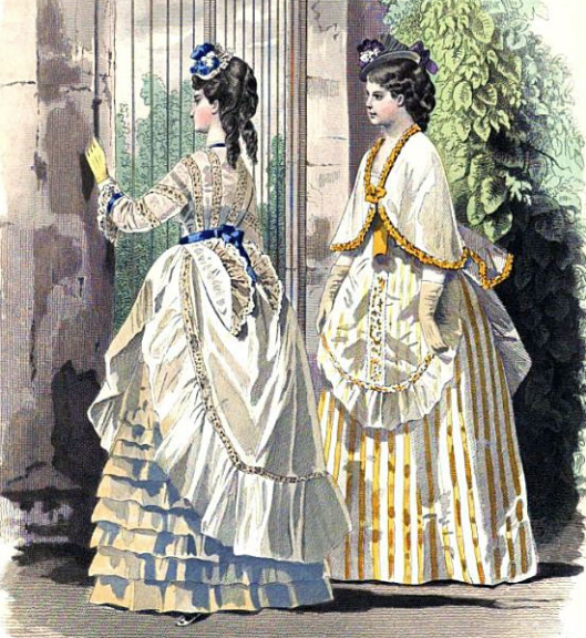 Marilee's gown - a composite of these two - chapter 4