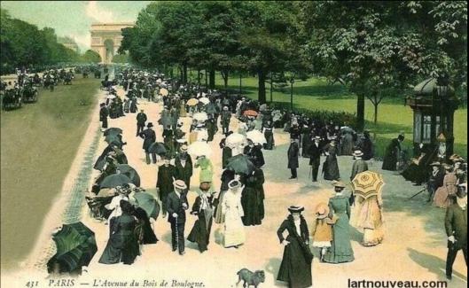 Chapter 4 setting is Bois de Boulogne