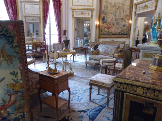 Du Crecy family salon (living room) - opening scene