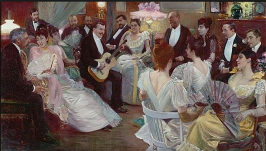Salon gathering - chapter 3