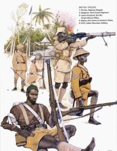Askari soldiers WWI East Africa